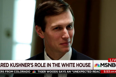 Will Kushner's WH stabiliby change over...