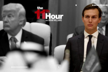 White House doesn't deny Kushner sought...