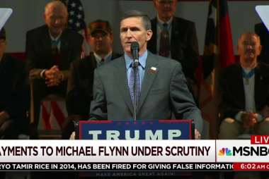 Payments to Flynn for doc under scrutiny