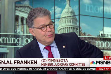 Al Franken: Polarization in DC as bad as...