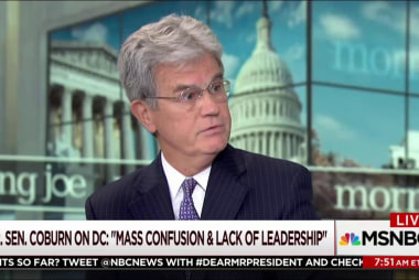 Coburn: Mass confusion, lack of leadership...