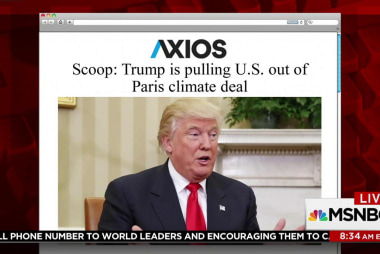 White House to pull out of Paris climate...