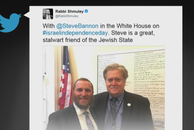 What's on Steve Bannon's whiteboard?