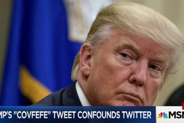 Spicer suggests Trump's 'covfefe' tweet...