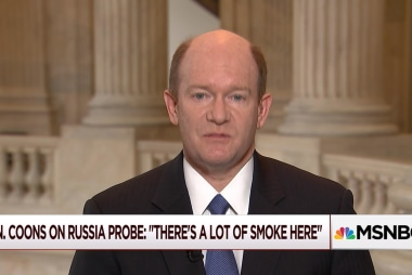 Sen. Coons on Russia probe: 'a lot of...