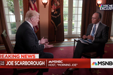 Joe on Lester Holt's exclusive interview...