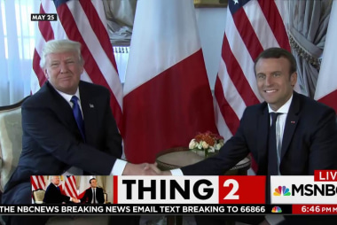 French Pres. Macron prepared for crazy...