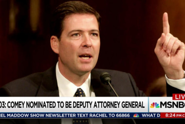 Comey brings authority to Trump-Russia probe