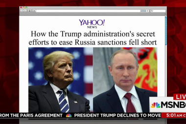 Trump WH planned to ease Russia sanctions:...