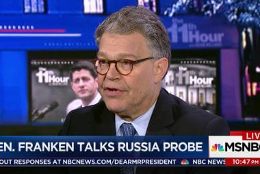 Sen. Franken: Trump Team not acting like...