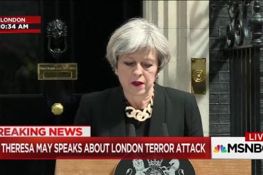 Theresa May London Attacks Press Conference