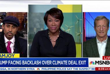 Trump leaves Paris Agreement—and activists...