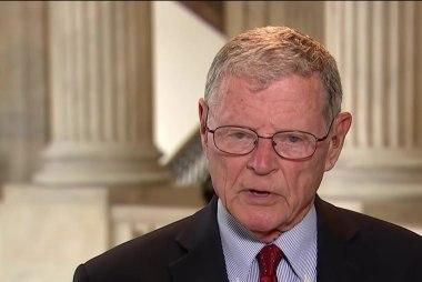 Sen. Inhofe: 'Good Idea' for U.S. to Leave...