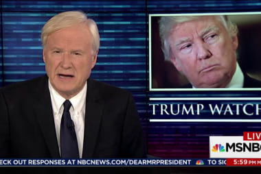 Matthews: US foreign policy is now Trump's...