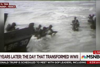 Morning Joe remembers D-Day landings