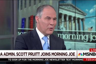 Scott Pruitt: Paris put US at an economic...