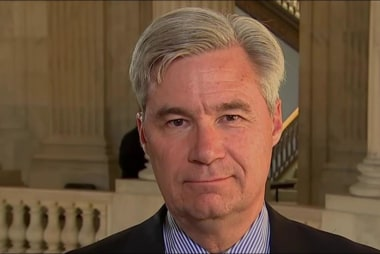 Sen. Whitehouse: There's a problem with...