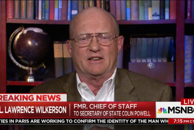 Lawrence Wilkerson: Trump admin. 'like a...