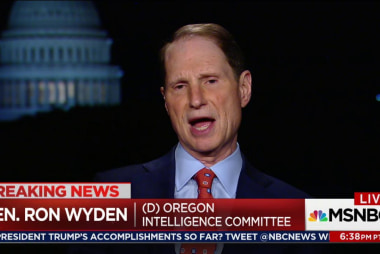 Wyden on Trump actions: 'Watergate-level'