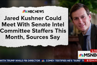 Senators may soon meet with Trump son-in...