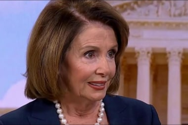 Pelosi's advice for Trump: 'Get some sleep'