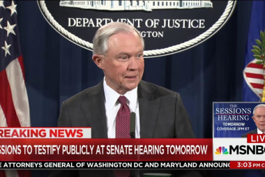 What will the Senate ask Jeff Sessions?