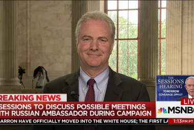 Van Hollen: Attack on our election is an...