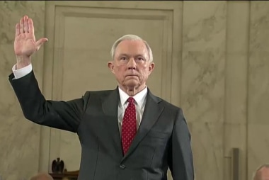 An important moment for Jeff Sessions