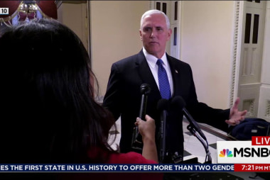 Pence hires lawyer with relevant experience