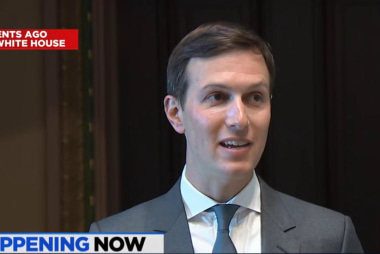 Kushner makes first public remarks since...