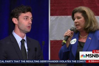 Hotly contested Georgia election ends Tuesday