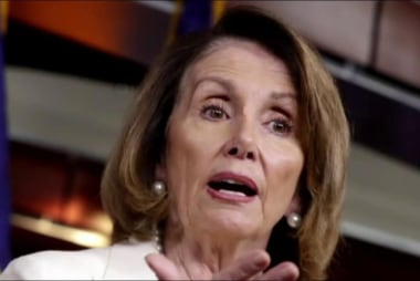 Nancy Pelosi in trouble with the Democrats?