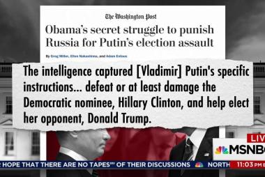 WaPost: Putin told hackers to hurt Clinton...