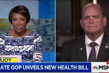 GOP congressman defends healthcare bill