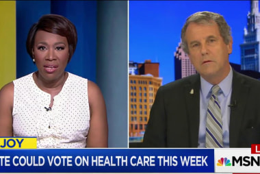 Sen. Sherrod Brown decries GOP healthcare...