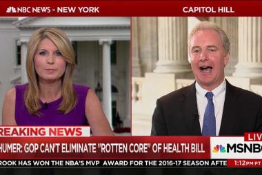 Van Hollen: GOP health care bill 'rotten...