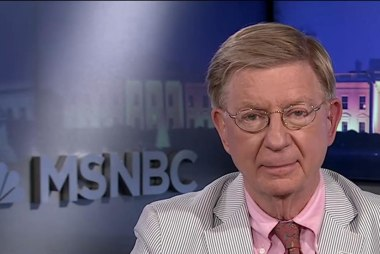 George Will: GOP asked to walk the plank...