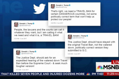 Fmr. Watergate prosecutor: Trump tweets...