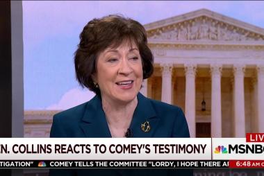 Senator unsure of existence of Comey,...