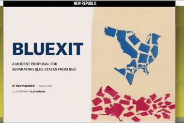 'Bluexit proposal would separate blue and...