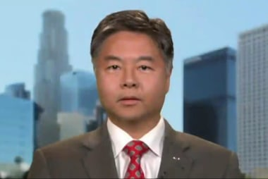 "Rep. Lieu: Trump's tweet ""beyond disturbing"""