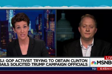 Was GOP activist seeking hackers with Trump?