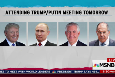 Only Tillerson to join Trump at Putin meeting