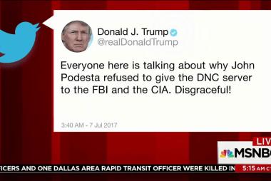 Trump tweets 'everyone' at G20 talking...