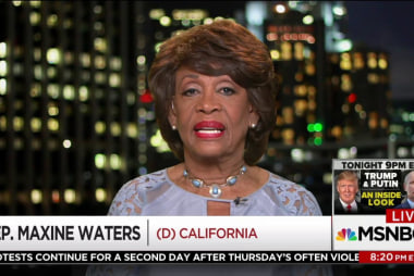 Maxine Waters: Keep eye on sanctions