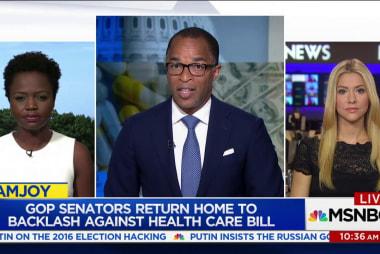 GOP senators return home to backlash...
