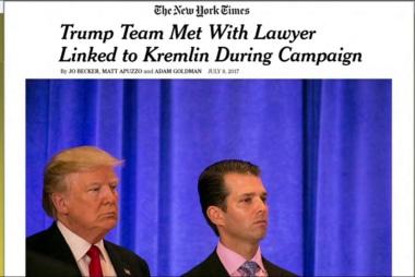 Report: Trump team met with Russian lawyer...
