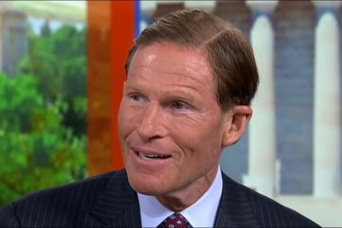 Blumenthal: This meeting is evidence of...