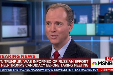 Schiff on potential Trump Russia criminality