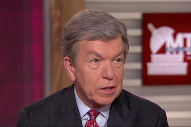 "Sen. Roy Blunt: ""I'd like to know why he..."